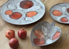Pentik, Granaattiomena/ Pomegranate. Beautiful pottery by the founder Anu Pentik.
