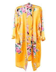 Find Dress Women's Long Personalized Cotton Kimono Bath Robe for Bride