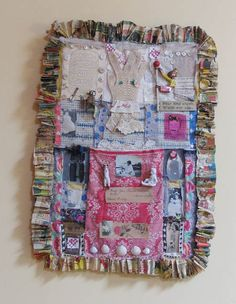 Recycled Art from Janet Cooper Designs - Assemblage Ladies