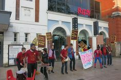 The owner of Brixton's Ritzy cinema today performed a dramatic u-turn, axing controversial plans to sack a third of its workforce which had triggered a boycott and public protests.
