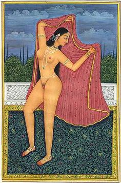 Painting Best nude erotic indian
