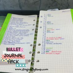 Trying something new for March. I cut the monthly page done to where the week starts and added a bullet like lay out for my monthly view & tasks. I noticed I'm not using the monthly page as much as the weekly & daily pages.