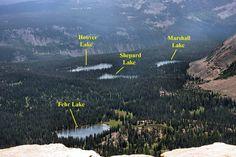 Fehr Lake area, about 5 miles. Uintahs.
