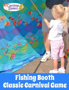 School Carnival Game - Go Fishing. See how to make this booth easy set up and how to play too!