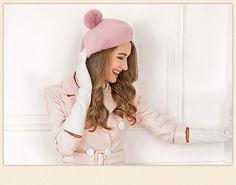 Winter 100% Wool Felt Berets For Women Artist Boina Gorras Planas Flat Cap Female Stewardess hats