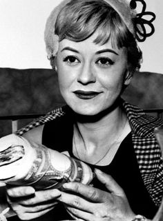 Italian Actresses: Giulietta Masina (1921 –1994)  Giulietta Masina, was married to Federico Fellini and as his muse she starred in many of his films including La Strada and Nights of Cabiria, both winners of the Academy Award for Best Foreign Language Film, in 1956 and 1957, respectively