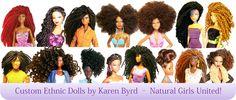 Black Barbie Dolls with Natural Hair | OMG! We're Totally Loving These Barbies With Natural Hair! [PHOTOS]
