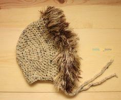 Furry Animal Bonnet