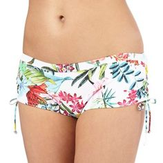Mantaray Multi-coloured botanical print bikini bottoms | Debenhams