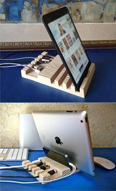 Зарядное устройство, USB док-станции, док-станцией для Ipad, Ipad, Wood iphone 6 док, дерево док-станции.