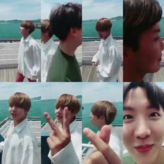 V and J-Hope ❤ [BTS JP Official Video Tweet] [BTS Message / V] A.R.M.Y~ ぴょんぴょんハート❤❤ Vol.3 #浮気するなよ #シリーズ #V #BTS (hOSEOKAHHHHHhhhhh let Taehyung speak!!  Tae: Hello everyone~ Everyone who is in Hiroshima.. ahhh Fukuoka welcome) #BTS #방탄소년단