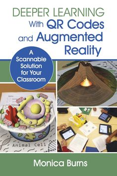 My New Book! Deeper Learning with QR Codes and Augmented Reality Now Available for Pre-Order