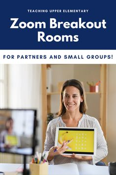 Zoom overload is a very real thing, but if we have to be spending hours in front of a screen, we should at least make them worthwhile! Zoom Breakout Rooms are a unique feature to make meetings more fun and an engaging environment for students! We can use them to do partner and even small group activities in the classroom!