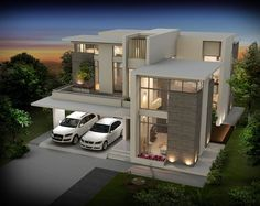 Seiken Contemporary designed Luxury Villas at Calicut Kerala