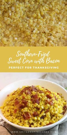 Southern-Fried Sweet Corn with Bacon Recipe