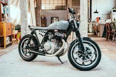 Incredible Custom Yamaha XS400