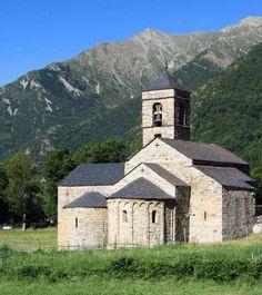 Barruera, Vall de Boí - Iglesia románica de Sant Feliu