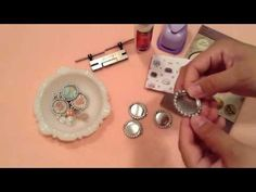 ▶ Bottle Cap Charm Tutorial PT.1 - YouTube