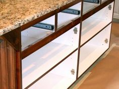 HGTV has inspirational pictures, ideas and expert tips on replacing your kitchen cabinet doors to help you breathe new life into your cooking space.