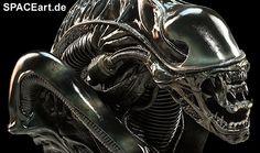 Alien 2: Alien Warrior - Legendary Scale Büste http://spaceart.de/produkte/al008.php