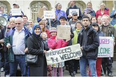 Hundreds join Cambridge demo calling for more action to help solve refugee crisis | Cambridge News