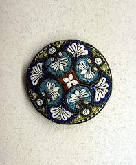IMG_5206 (Bluefront Studio) Tags: art glass vintage antique jewellery button millefiore micromosaic