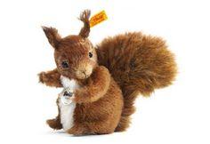 Steiff stuffed squirrel.