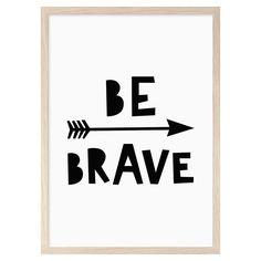 Be Brave Mini Learners wall art