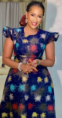 Beautiful Juliet Ibrahim Africa is home to some of the most beautiful women on earth. African women have beautiful skins with amazing hairstyles admired by the rest of the world. African Dresses For Kids, African Maxi Dresses, Latest African Fashion Dresses, African Print Fashion, African Attire, Long Dresses, Long Gowns, Church Dresses, Africa Fashion