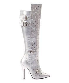 This Silver Gwen Boot is perfect! #zulilyfinds