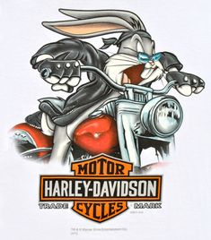 Harley-Davidson® Mens Looney Tunes Speedy Bugs by RK Stratman