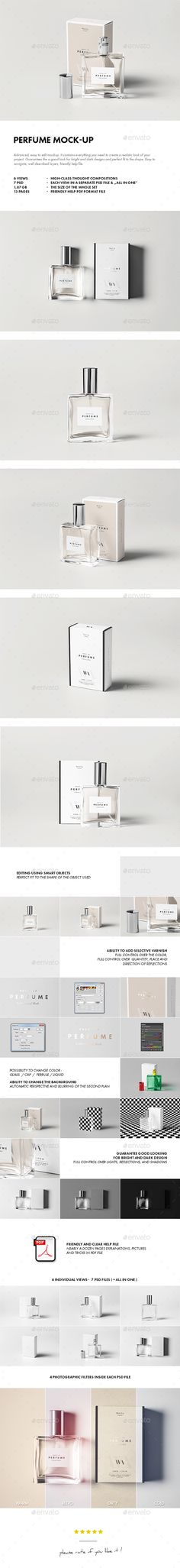 Perfume Mock-up #design Download: http://graphicriver.net/item/perfume-mockup/13148737?s_phrase=&s_rank=15&ref=ksioks