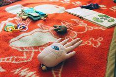 Dita Rakouska, toys, via jedenact kocek, the God's eye hand playing music after you pull it
