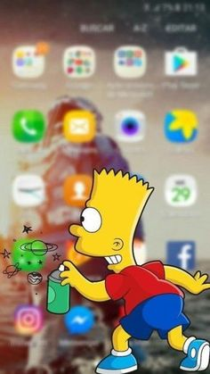 The Simpsons Homer phone wallpaper background for iPhone and Android iPad. Deadpool Wallpaper, Graffiti Wallpaper, Nike Wallpaper, Galaxy Wallpaper, Wallpaper Backgrounds, Wallpaper Desktop, Simpson Wallpaper Iphone, Cartoon Wallpaper Iphone, Aesthetic Iphone Wallpaper