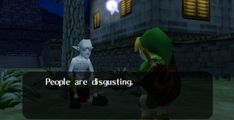 Zelda - Majora's mask / linkkkkk<<<That's not Majora's mask, that's Ocarina of Time, peeps...