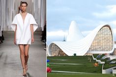 9 Fashion Designers Tell AD How They Are Inspired by Architecture - Fashion Designers Inspired by Architecture: Rosie Assoulin, Delpozo, Phillip Lim Photos Become A Fashion Designer, Designer Wear, Fashion Designers, Designer Shoes, Fashion Over 40, World Of Fashion, Phillip Lim, Architecture Design, Fashion Architecture