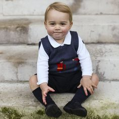 Pin for Later: Prince George Couldn't Be Cuter in His New Christmas Pictures