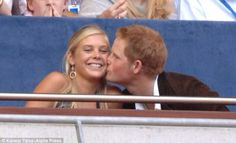 Prince Harry and Chelsy Davy. Just get back together and get married already!!