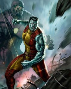 Marvel Comic Book Artwork • Colossus by DLeoBlack. Follow us for more awesome comic art, or check out our online store www.7ate9comics.com