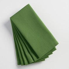 One of my favorite discoveries at WorldMarket.com: Willow Green Buffet Napkins Set of 6