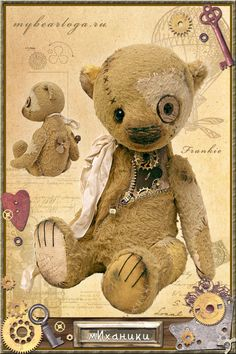 Steampunk Bears | Стимпанки « mybearloga.ru: Авторские медведи Елены Кармацкой