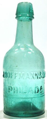 Antique Bottle Squad Soda or Water Pontil Blob J. Hoffmann and Son.  Ebay  $290.00  BEAUTIFUL!!!