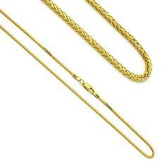 "1.2mm Women's 14K Yellow Gold Wheat Chain Necklaces 20"" Prime Pristine http://www.amazon.com/dp/B00GHVT4LM/ref=cm_sw_r_pi_dp_DPk.tb1FGD63J"