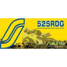 Sunstar SS525RDG-112 Road DualGuard Size 525 Sealed Chain with 112 Links