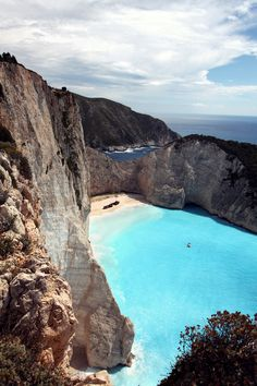 https://flic.kr/p/wd8EWB | Shipwreck beach | Walked on dangerous paths to get some amazing views over Navagio beach. There's more to come!