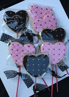 This was actually for a Girl's Pirate Party . Girls Pirate Parties, Pirate Party, Heart Cookies, Cute Cookies, Valentine Cookies, Valentines, Valentine Heart, Victoria Secret Party, Pink Sweet 16