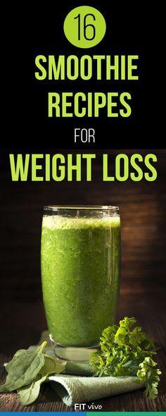 16 recetas Smoothie para la pérdida de peso