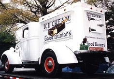 vintage looking ice cream delivery truck - Google Search