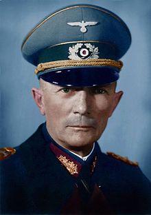 Field Marshal Moritz Albrecht Franz Friedrich Fedor von Bock: Commander of Heeesgruppe Nord during the German invasion of Poland 09/01/1939.