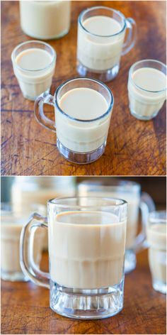 Homemade Baileys Irish Cream - A homemade DIY version that takes 1 minute to blend and it's a dead ringer for the real thing!!